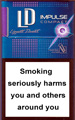 LD Compact Impulse Purple Cigarettes pack