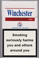 Winchester Red Cigarettes pack
