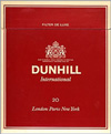 DUNHILL INTERNATIOAL-RED Cigarettes pack