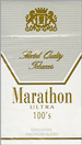 MARATHON ULTRA LIGHT BOX 100 Cigarettes pack