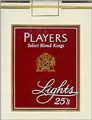 PLAYER CANADIAN LT REG HP 25'S Cigarettes pack
